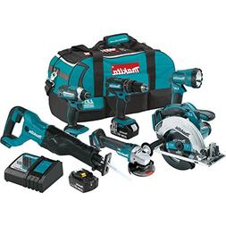 Makita XT610 18V LXT Lithium_Ion Cordless 6_Pc. Combo Kit