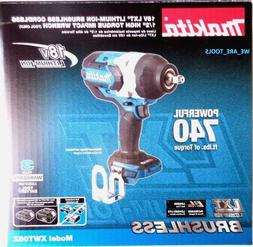 Makita XWT08Z 18V LXT Lithium-Ion Brushless High Torque 1/2