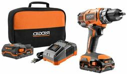 Ridgid ZRR860052K 18V Cordless Lithium-Ion 1/2 in. Compact D